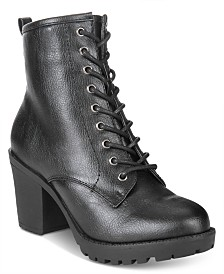 ZIGIny Kourtlan Lace-Up Booties