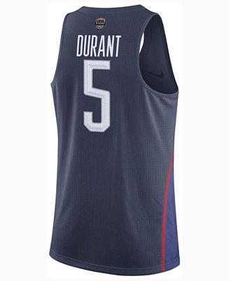 45db02b3951 Nike Men's Kevin Durant USA Rio Elite Replica Jersey & Reviews ...