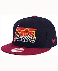 New Era Cleveland Cavaliers HWC Logo Stacker 9FIFTY Snapback Cap