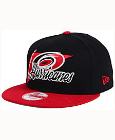 New Era Carolina Hurricanes Logo Stacker 9FIFTY Snapback Cap