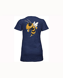 Pressbox Women's Georgia Tech Yellow Jackets Gander V-Neck T-Shirt