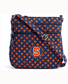 Vera Bradley Syracuse Orange Triple Zip Hipster