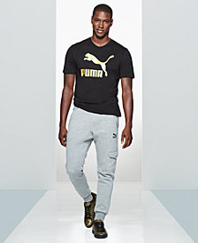 Puma Men's Graphic T-Shirt & Cargo Joggers