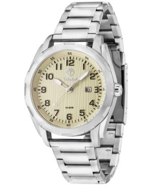 Timberland Men's New Market Stainless Steel Bracelet Watch 45x55mm BL13330XS07M