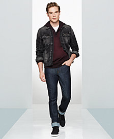 WILLIAM RAST Men's Denim Jacket, Hoodie & Slim-Fit Jeans