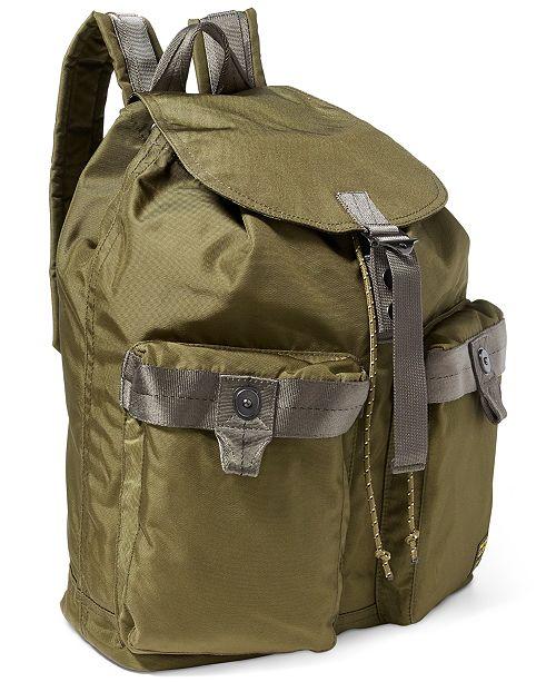 089dbbbfa1 Polo Ralph Lauren Men s Military Nylon Backpack   Reviews - All ...