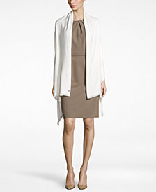 Calvin Klein Lurex® Twill Evening Wrap