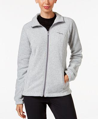 Columbia Benton Springs Fleece Jacket - Jackets - Women - Macy's
