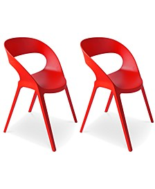 Carla Indoor/Outdoor Chairs (Set Of 2)