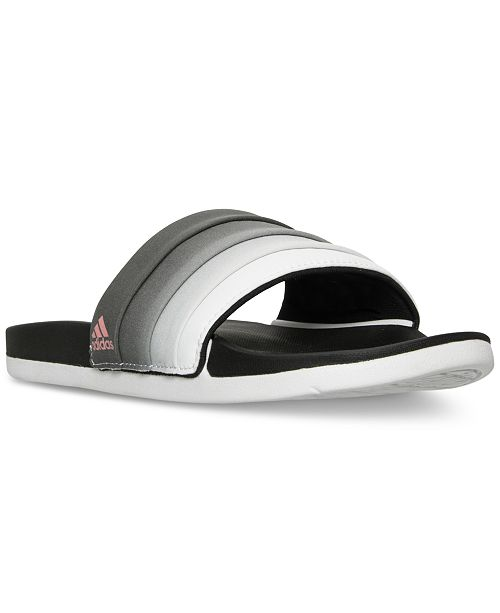 a3eb1ad8f2d6 ... adidas Women s Adilette Cloud Foam Armad Slide Sandals from Finish ...