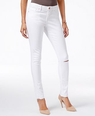 WILLIAM RAST The Perfect White Wash Skinny Jeans