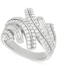 Wrapped in Love™ Diamond Statement Ring (1 ct. t.w.) in Sterling Silver