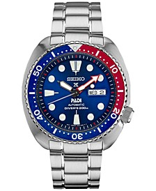 Men's Automatic Prospex Diver PADI Stainless Steel Bracelet Watch 45mm SRPA21