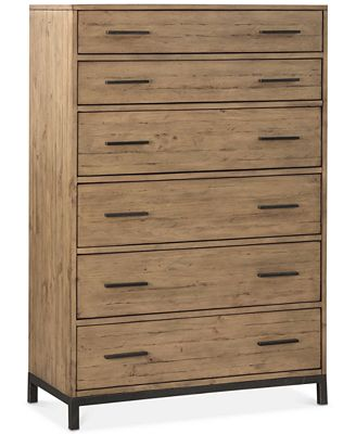 gatlin 6 drawer chest, created for macy's - furniture - macy's