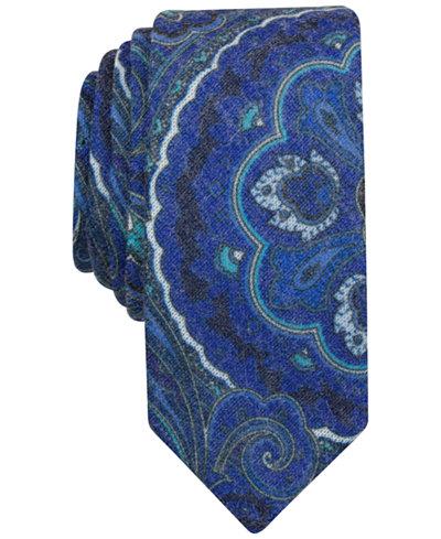 Original Penguin Men's Printed Paisley Slim Tie