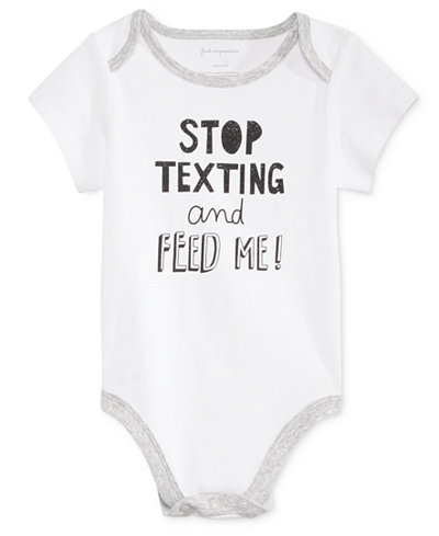First Impressions Stop Texting Bodysuit Baby Boys Amp Girls