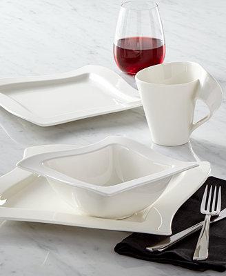 Villeroy & Boch Dinnerware, New Wave Collection - Dinnerware - Dining & Entertaining - Macy's