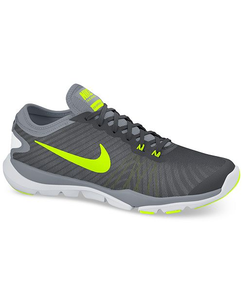 check out 1dbb0 86a27 ... Nike Women s Flex Supreme TR 4 Wide Training Sneakers from Finish ...