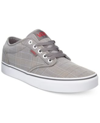 vans old skool grey red living