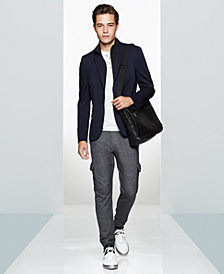 Kenneth Cole Men's Blazer, Fleece Vest, Henley & Textured Sweatpants