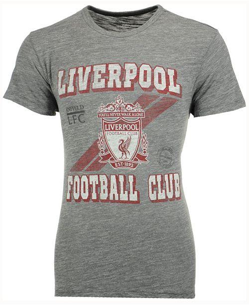 2da0e104bbc 47 Brand Men's Liverpool FC Crest Tri-State T-Shirt & Reviews ...