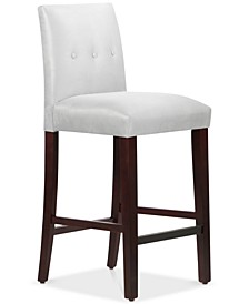 """Mirrell Tapered 43"""" Bar Stool with Buttons"""