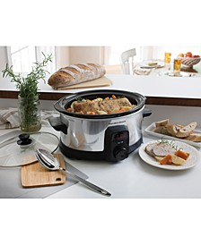 Stay or Go® IntelliTime™ 6-Qt. Slow Cooker