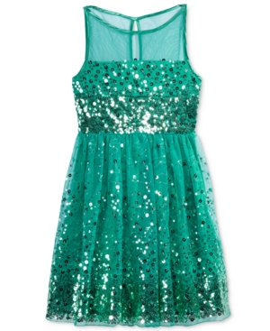 Crystal Doll Sequin Illusion...