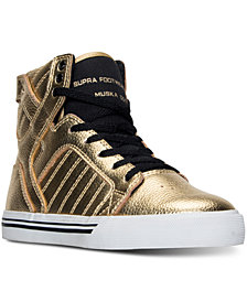 Supra Little Boys' Skytop High-Top Casual Sneakers from Finish Line
