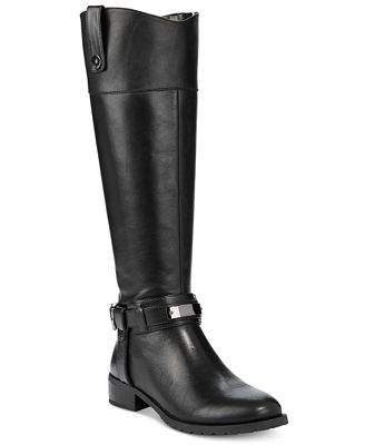INC International Concepts Women's Fabbaa Tall Boots, Only at ...