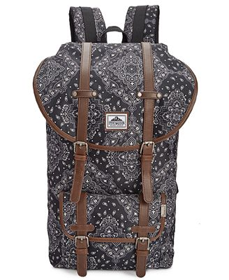 Steve Madden Men's Bandana Utility Backpack