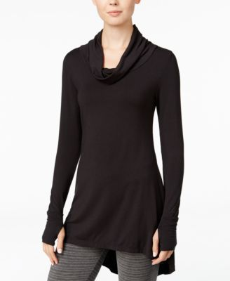 cuddl duds softwear stretch cowlneck tunic