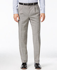 Lauren Ralph Lauren Check 100% Wool Pleated Dress Pants