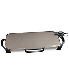 "07062 22"" Electric Ceramic Griddle w/Removable Handles"