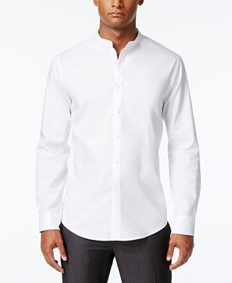Inc International Concepts Men 39 S Banded Collar Shirt