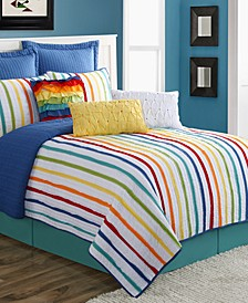 Baja Stripe 3-Piece King Quilt Set