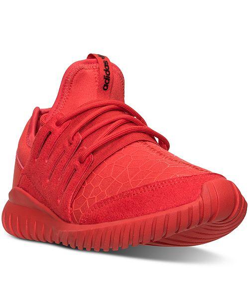 415e1ecfc323 ... adidas Big Boys  Originals Tubular Radial Casual Sneakers from Finish  ...