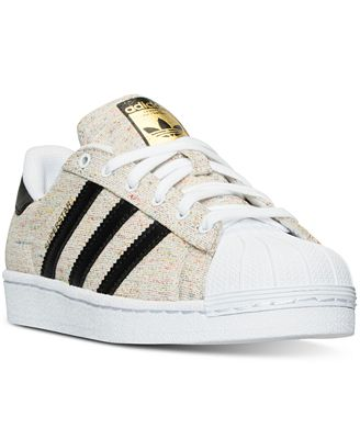 adidas boys superstar casual sneakers from finish line