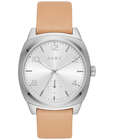 DKNY Women's Broome Vachetta Leather Strap Watch 36mm NY2535