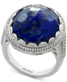 EFFY® Lapis Lazuli Statement Ring (12-1/5 ct. t.w.) in Sterling Silver