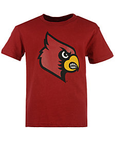 Outerstuff Kids' Louisville Cardinals Wordplay Logo Fill T-Shirt, Big Boys (8-20)