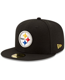 Pittsburgh Steelers Team Basic 59FIFTY Fitted Cap