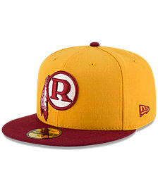 New Era Washington Redskins Team Basic 59FIFTY Fitted Cap