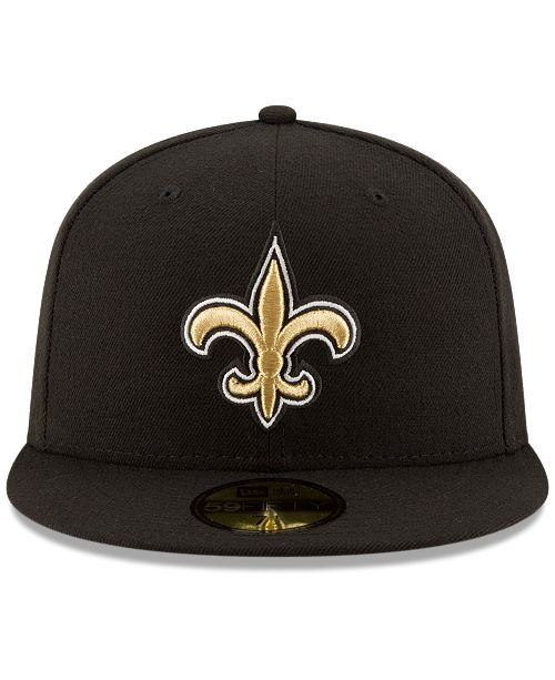 reputable site 325c0 2448b ... New Era New Orleans Saints Team Basic 59FIFTY Fitted Cap ...