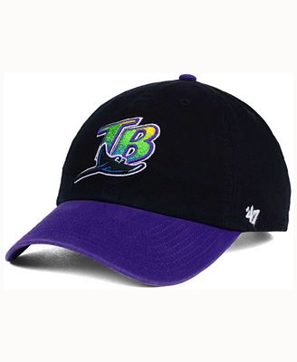 '47 Brand Tampa Bay Rays Cooperstown CLEAN UP Cap