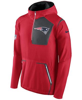 newest 6242e d142d Nike Men's New England Patriots Alpha Fly Rush Jacket ...