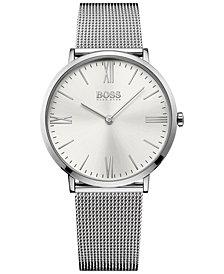 BOSS Hugo Boss Men's Jackson Stainless Steel Mesh Bracelet Watch 40mm 1513459