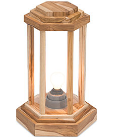 CLOSEOUT! Zuo Latter Teak Small Floor Lamp