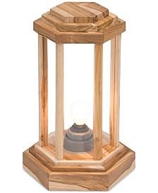 CLOSEOUT! Zuo Latter Teak Small Floor Lamp
