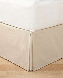 Hotel Collection Distressed Chevron King Bedskirt, Created for Macy's